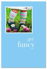 Cardthartic Cardthartic - Girl in Striped Socks Birthday Card