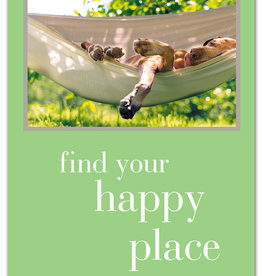 Cardthartic - Find Your Happy Place Birthday Card
