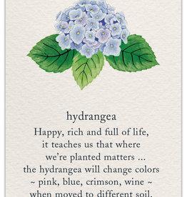 Cardthartic - Hydrangea New Home Card