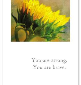 Cardthartic - Skyward Sunflower Support Card