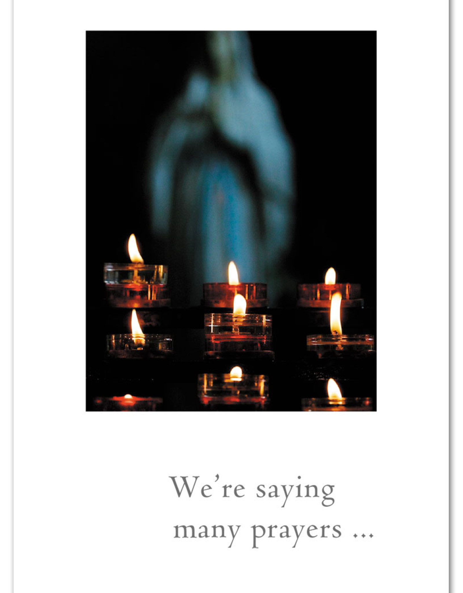 Cardthartic Cardthartic - We're Saying Many Prayers Support Card