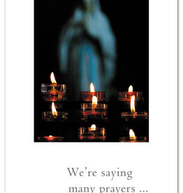 Cardthartic - We're Saying Many Prayers Support Card