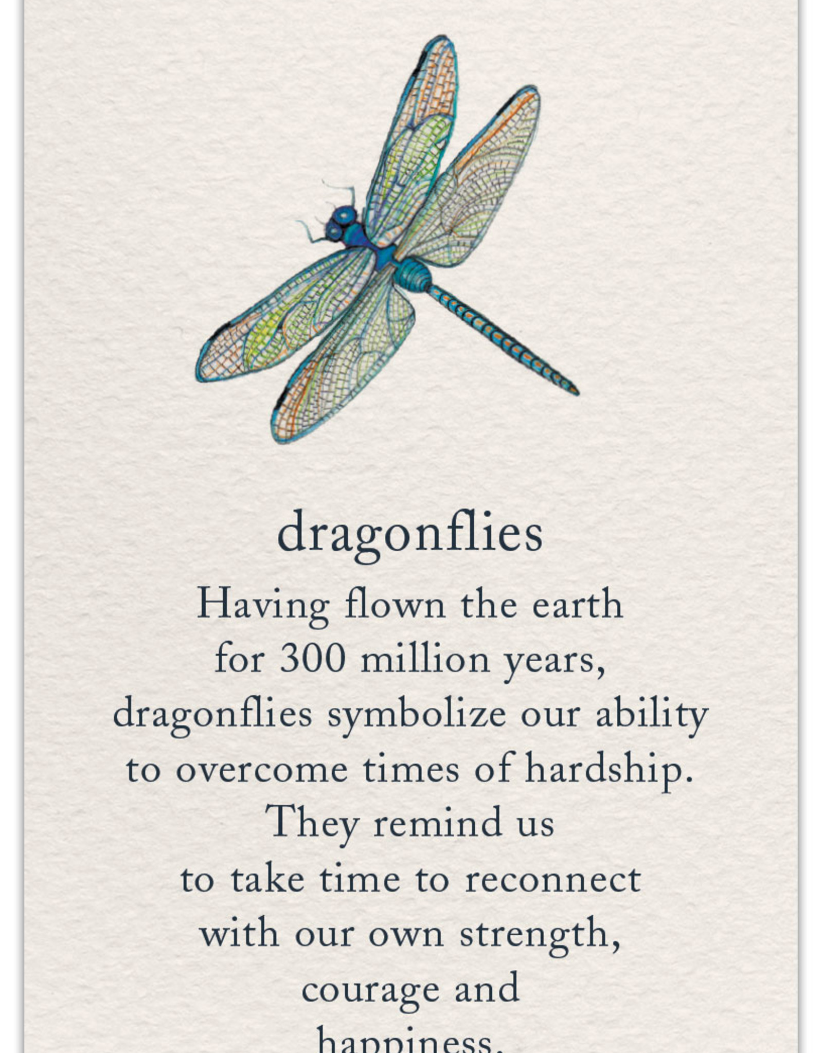 Cardthartic Cardthartic - Dragonfly Support/Encouragement Card