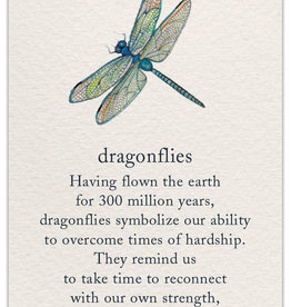 Cardthartic - Dragonfly Support/Encouragement Card