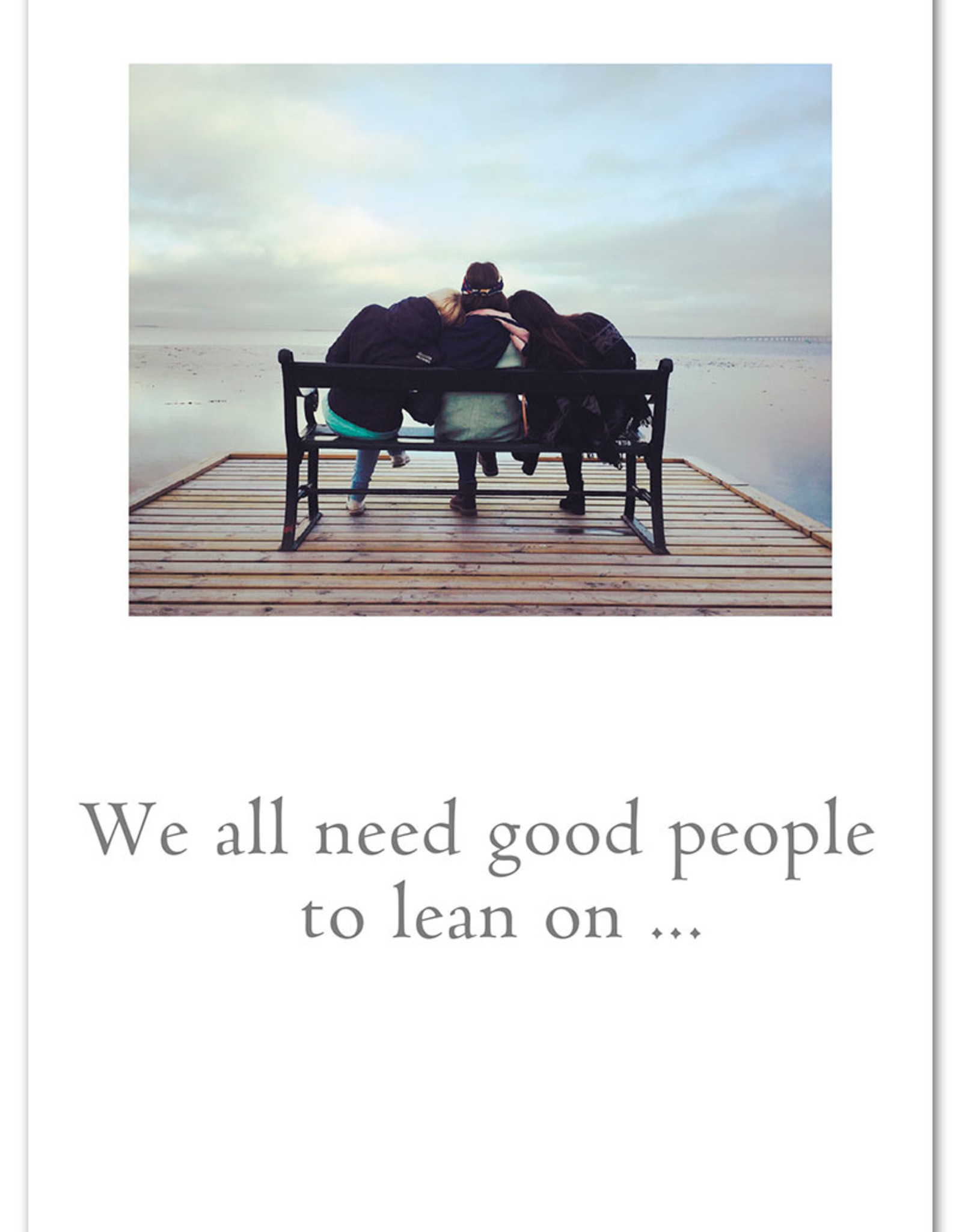Cardthartic Cardthartic - We All Need Good People Friendship Card