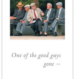 Cardthartic - Good Guys  Sympathy Card