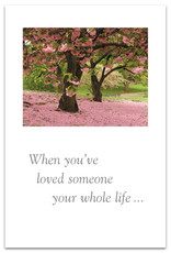 Cardthartic Cardthartic - Two Cherry Blossom Trees  Sympathy Card