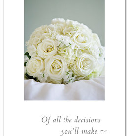 Cardthartic - Wedding Bouquet Engagement Card