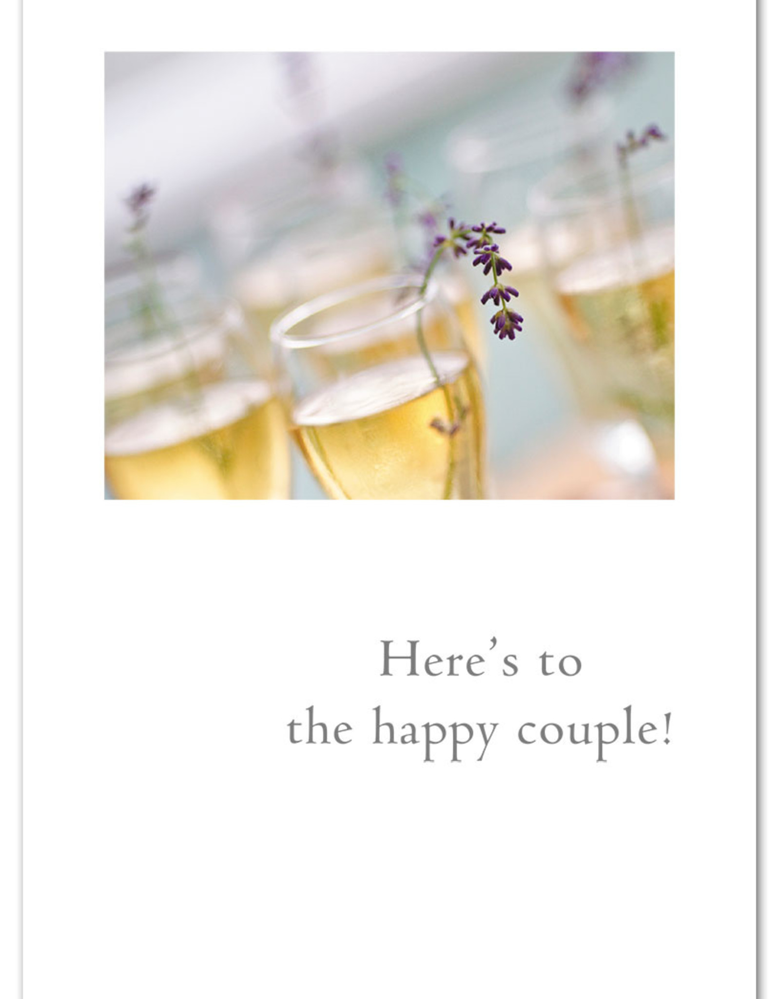 Cardthartic Cardthartic - Champagne & Lavender Wedding Card
