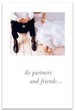 Cardthartic Cardthartic - Floored Bride and Groom Wedding Card