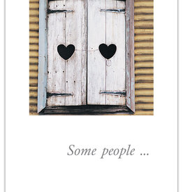 Cardthartic - Heart Shutters Anniversary Card