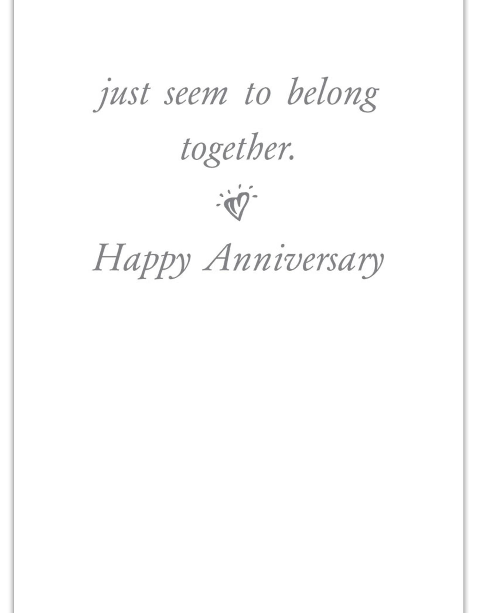 Cardthartic Cardthartic - Heart Shutters Anniversary Card