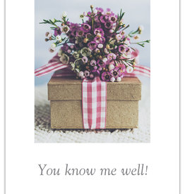 Cardthartic - You Know Me Well Thank You Card
