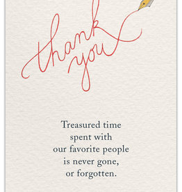 Cardthartic - Thank You Cursive Card