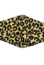 DM Merchandising Cotton Face Masks - Adjustable Straps - Leopard