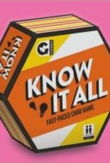Ginger Fox Ginger Fox - Know It All Card Game