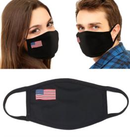 USA Flag Mask - Side Small Flag