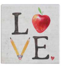 Sincere Surroundings Sincere Surroundings - Love Apple Sign