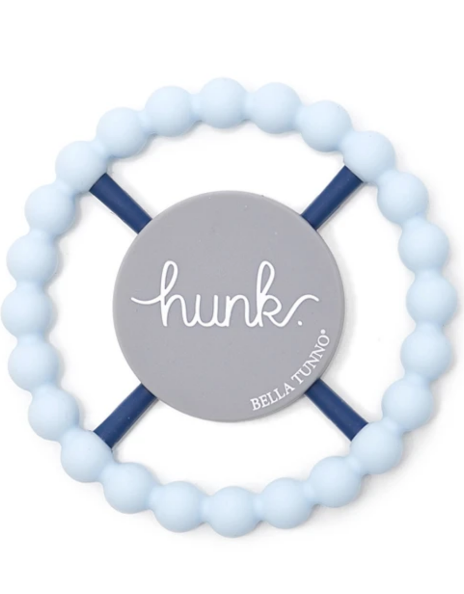Bella Tunno Bella Tunno - Teether Hunk Light Blue