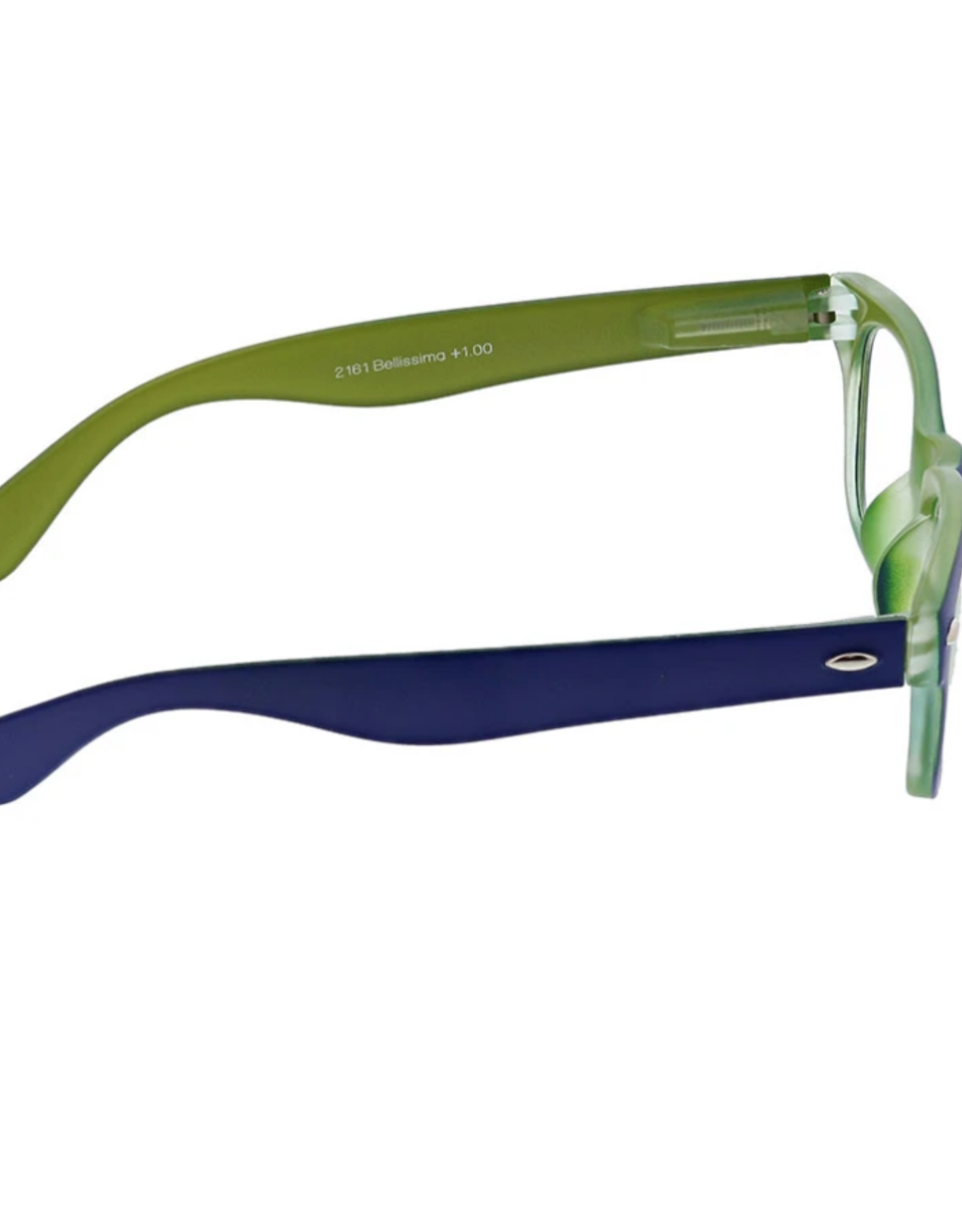 Peepers Peepers - Bellissima Reading Glasses - Navy/Green
