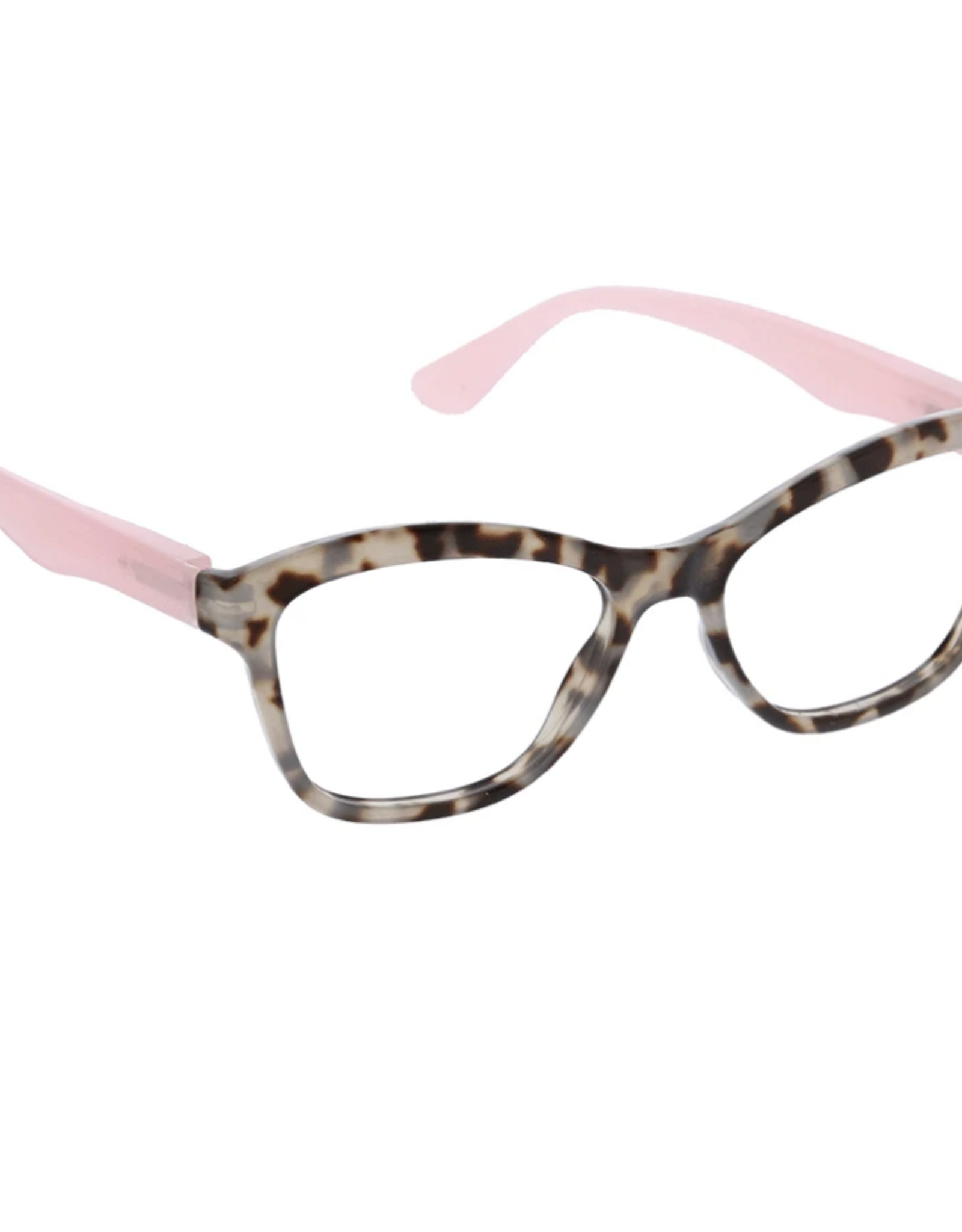 Peepers Peepers - Pebble Cove - Gray Tortoise/Pink