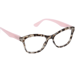 Peepers - Pebble Cove - Gray Tortoise/Pink