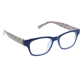Peepers - Reading Glasses - Apres Ski Blue/Patchwork