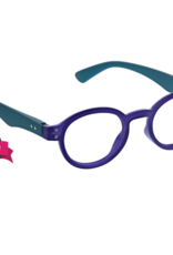Peepers Peepers - Book It Reading Glasses - Indigo/Teal