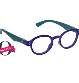 Peepers - Book It Reading Glasses - Indigo/Teal