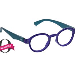 Peepers Peepers - Book It Reading Glasses - Indigo/Teal