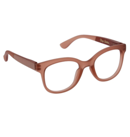 Peepers - Brocade Reading Glasses - Blush/Golden