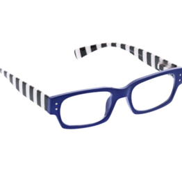 Peepers - Hey Sailer Reading Glasses - Blue/Stripe