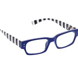 Peepers Peepers - Hey Sailer Reading Glasses - Blue/Stripe