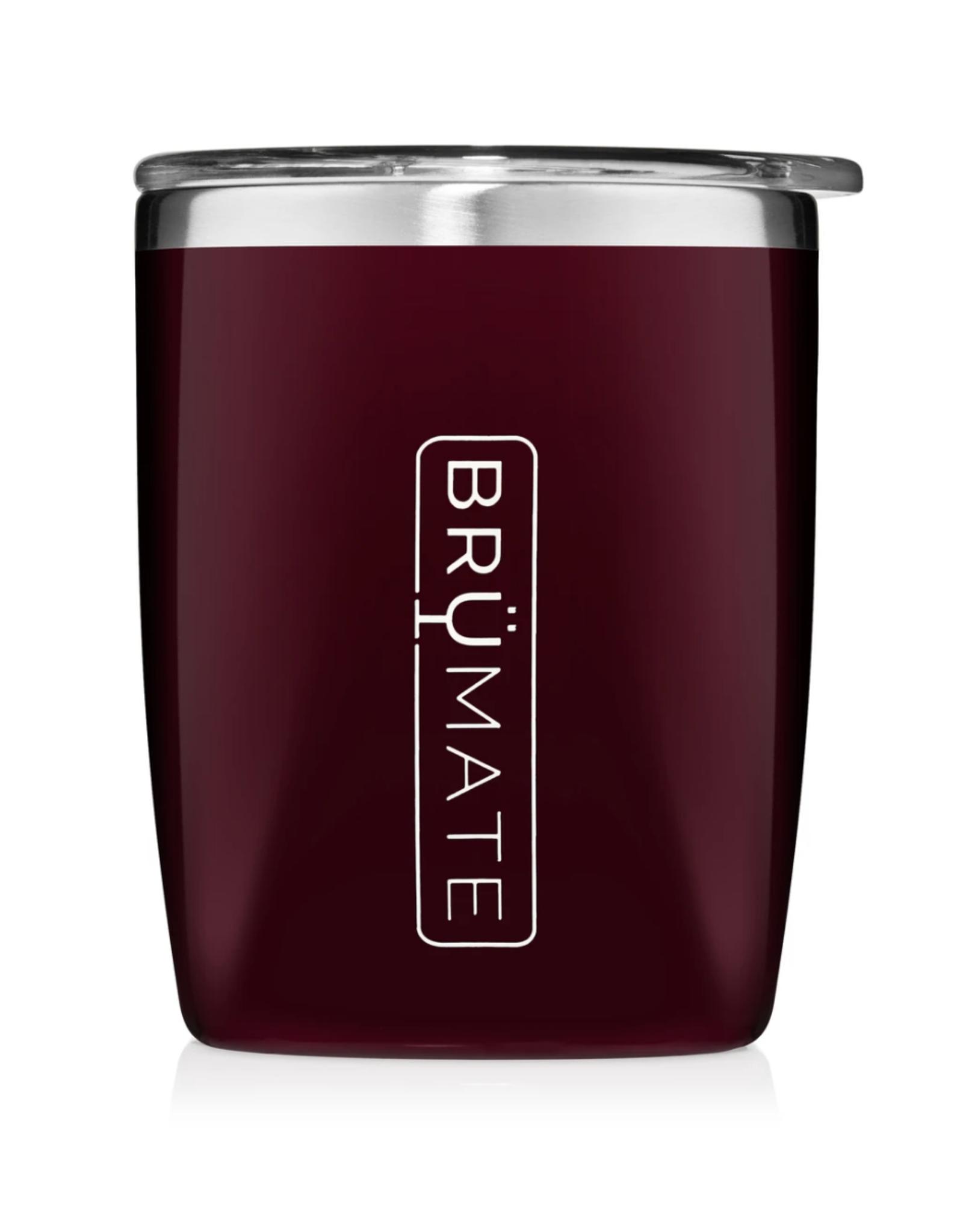 Brumate BruMate - Rocks Glass - Merlot