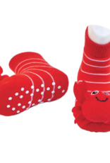 Piero Liventi - Rattle Socks Red Crabby