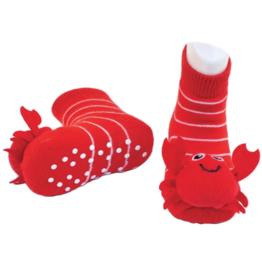 Piero Liventi Piero Liventi - Rattle Socks Red Crabby