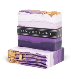 Finchberry Finchberry Handcrafted Vegan Soap - Amethyst