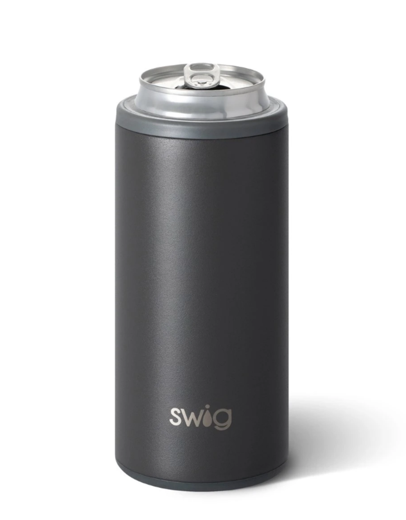 Swig - 12oz Skinny Can - Matte Grey