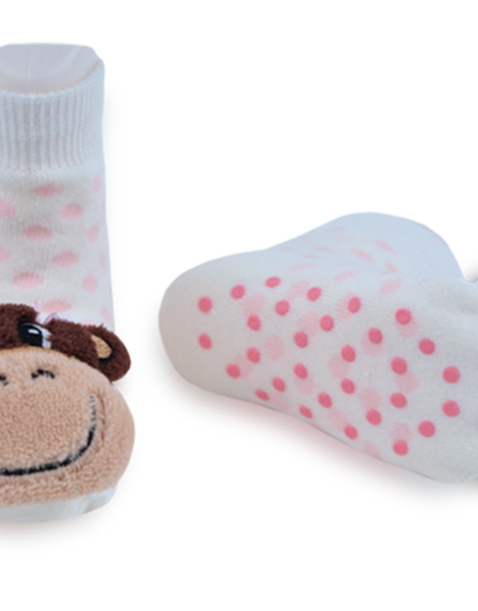 Piero Liventi - Rattle Socks Monkey Girl