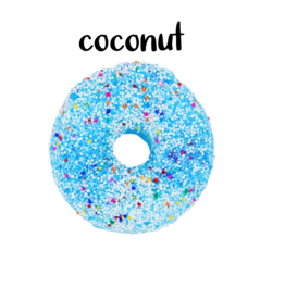 Garb2art Garb2art - Donut Bath Bomb - Coconut