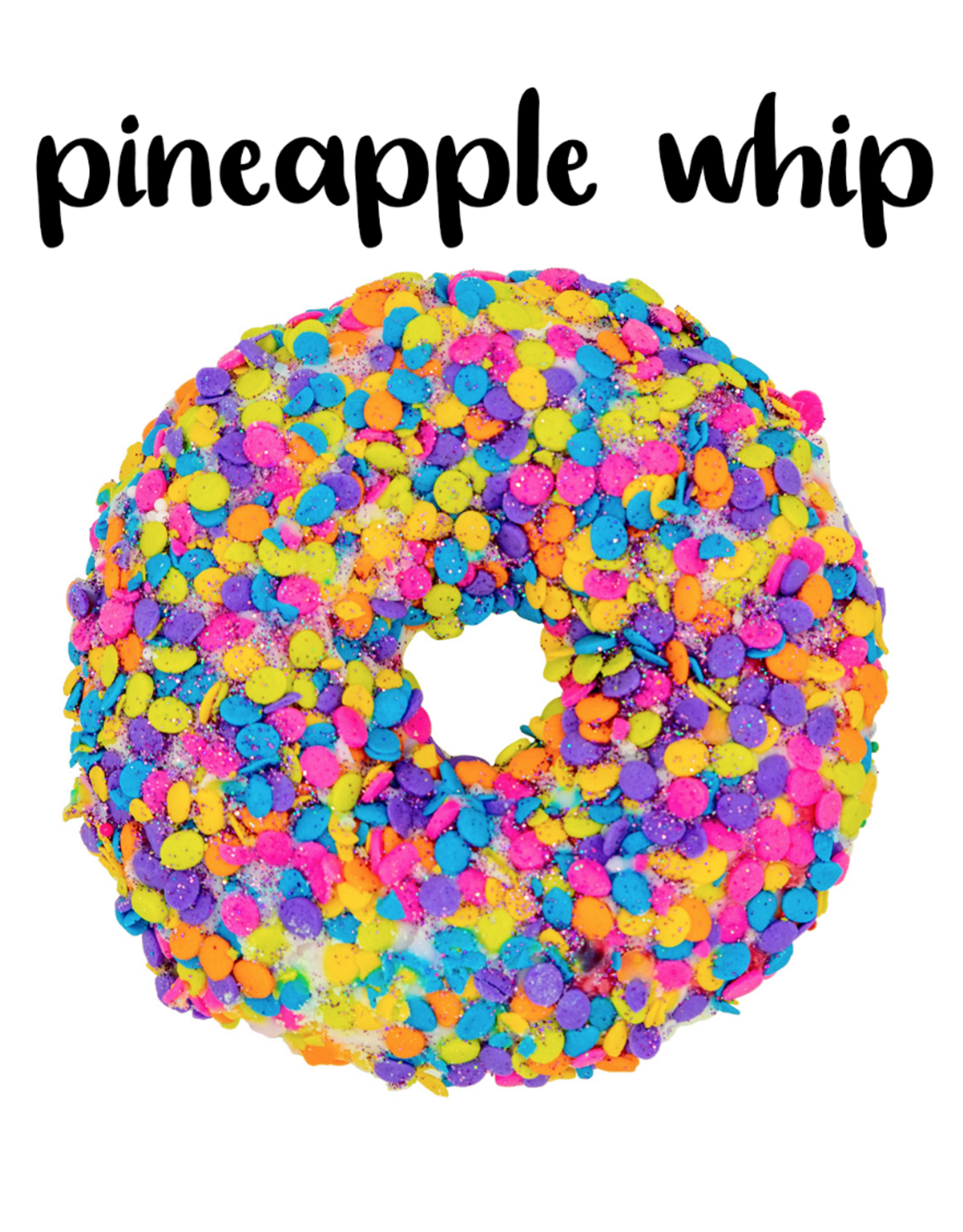 Garb2art Garb2art - Donut Bath Bomb - Pineapple Whip