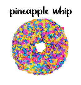 Garb2art - Donut Bath Bomb - Pineapple Whip