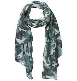 Tickled Pink - Insect Shield Scarf - Green Camo