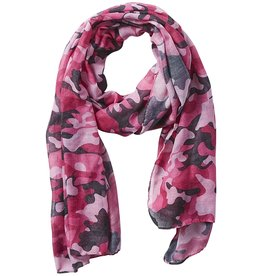 Tickled Pink - Insect Shield Scarf - Pink Camo