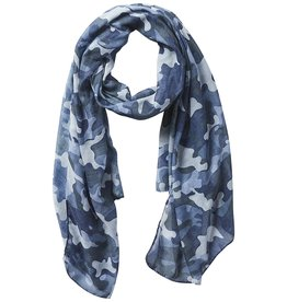 Tickled Pink - Insect Shield Scarf - Black Camo