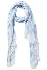 Tickled Pink - Insect Shield Scarf - Blue Tiny Stripe