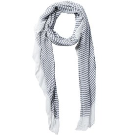 Tickled Pink - Insect Shield Scarf - Tiny Stripe Black