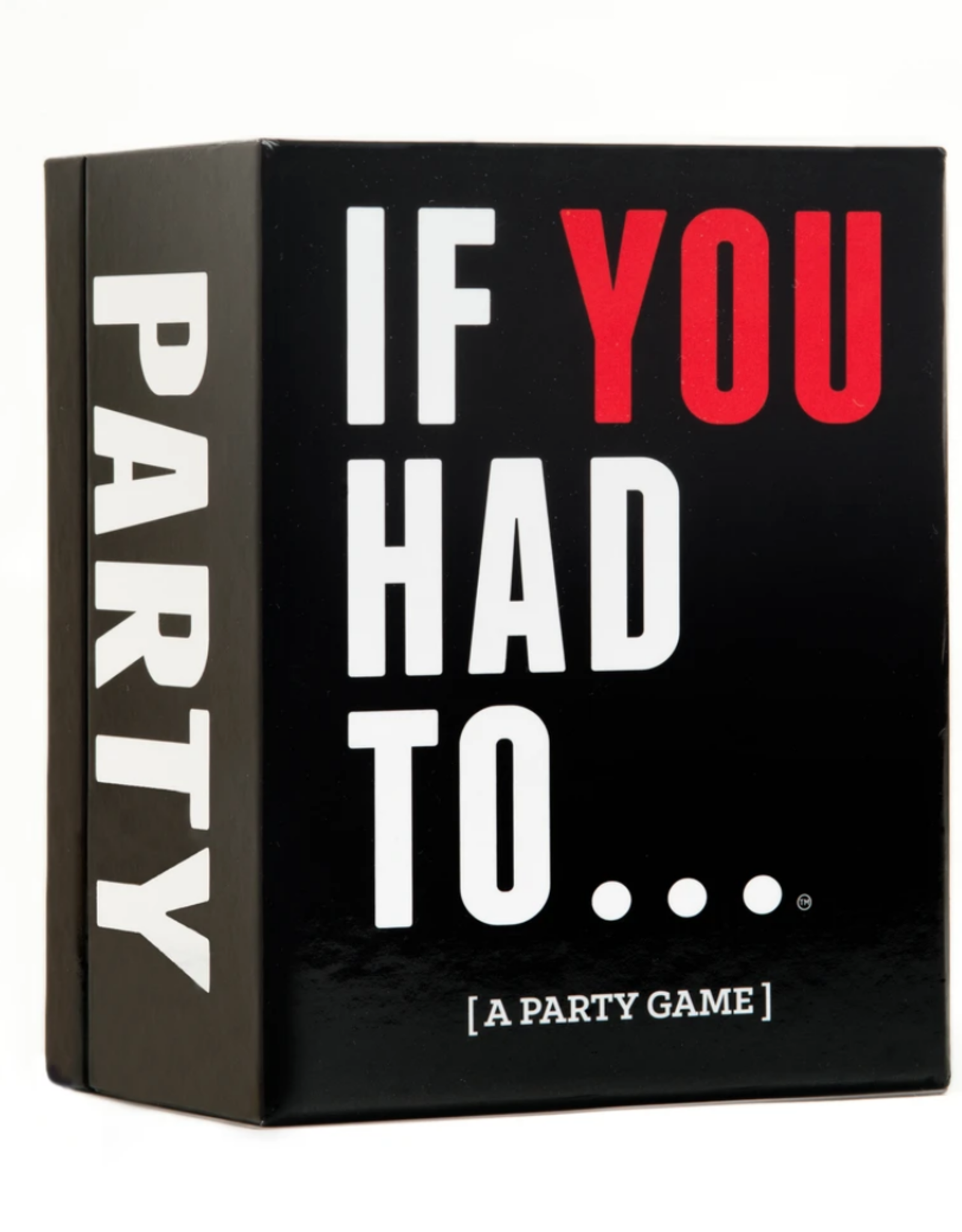 DSS Games DSS Games - If You Had To...