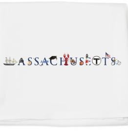 Tina Labadini Designs Tina Labadini Designs - Massachusetts Tea Towel