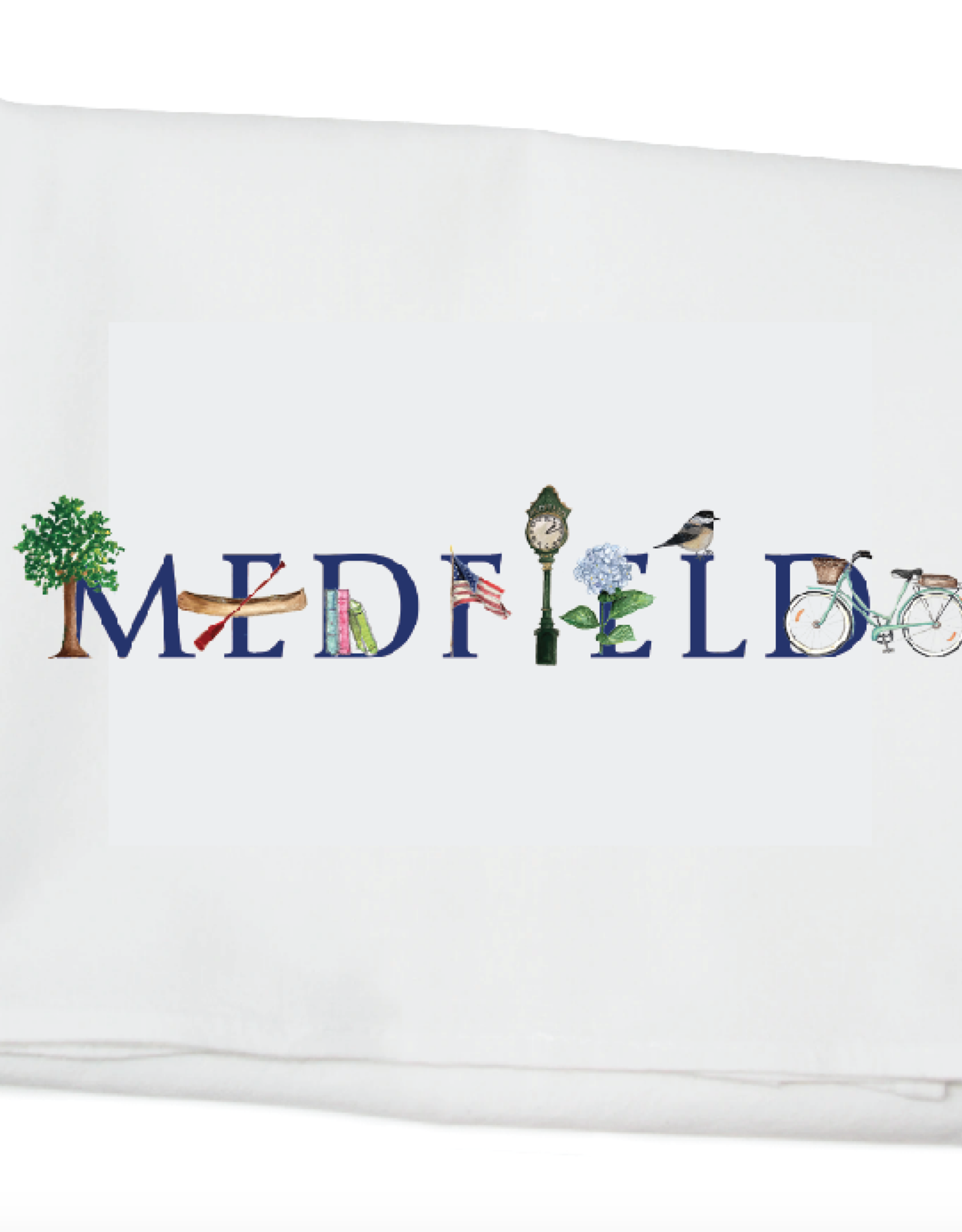 Tina Labadini Designs Tina Labadini Designs - Medfield Tea Towel